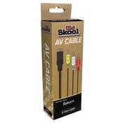 AV Cables for Sega Saturn Gaming System