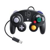 Original Black Super Smash Bros. Ultimate Controller for GameCube / Wii