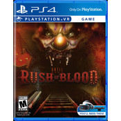Until Dawn Rush of Blood Video Game for Sony PlayStation 4