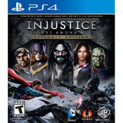 Injustice Gods Among Us Ultimate Edition Video Game for Sony PlayStation 4
