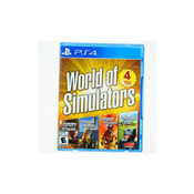World of Simulators Video Game for Sony PlayStation 4