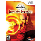 Avatar The Last Airbender Into the Inferno Video Game for Nintendo Wii