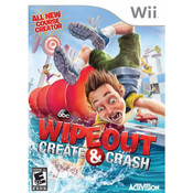 Wipeout Create & Crash Video Game for Nintendo Wii