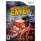 Deadliest Catch Sea of Chaos Video Game for Nintendo Wii