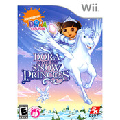 Dora Saves the Snow Princess Video Game for Nintendo Wii