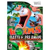 Worms Battle Islands Video Game for Nintendo Wii