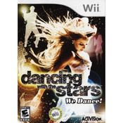 Dancing with the Stars We Dance! Video Game for Nintendo Wii