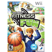 Family Party Fitness Fun Video Game for Nintendo Wii