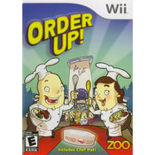 Order Up! Video Game for Nintendo Wii