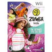 Zumba Kids The Ultimate Zumba Dance Party Video Game for Nintendo Wii