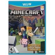 Minecraft Video Game for Nintendo Wii U