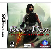 Prince of Persia The Forgotten Sands Video Game for Nintendo DS
