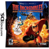 Incredibles Rise of the Underminer Video Game for Nintendo DS