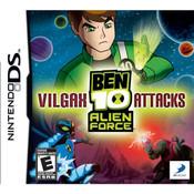 Ben 10 Alien Force Vilgax Attacks Video Game for Nintendo DS