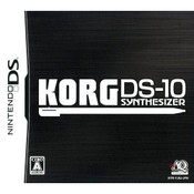Korg DS-10 Synthesizer Video Game for Nintendo DS