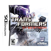 Transformers War for Cybertron Decepticons Video Game for Nintendo DS