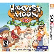 Harvest Moon 3D The Tale of Two Towns Video Game for Nintendo 3DS