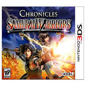Samurai Warriors Chronicles Video Game for Nintendo 3DS