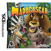 Madagascar Video Game for Nintendo DS