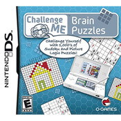 Challenge Me: Brain Puzzles Video Game for Nintendo DS