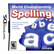 World Championship Spelling Video Game for Nintendo DS