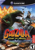 Godzilla Destroy Monsters - GameCube Game