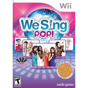 We Sing Pop! Video Game for Nintendo Wii