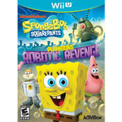 Spongebob Squarepants Plankton's Robotic Revenge Video Game for Nintendo Wii U