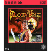 Bloody Wolf Video Game for TubroGrafx16