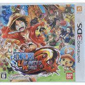 One Piece Unlimited World Red Video Game for Nintendo 3DS