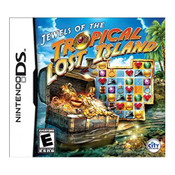 Jewels of the Tropical Lost Island Video Game for Nintendo DS