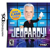 Jeopardy! Video Game for Nintendo DS