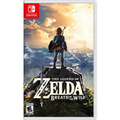 Legend of Zelda Breath of the Wild Video Game for Nintendo Switch
