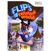 Fl!p's Twisted World Video Game for Nintendo Wii