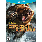Cabela's Dangerous Hunts 2013 Video Game for Nintendo Wii U