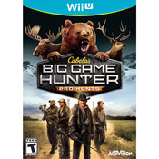 Cabela's Big Game Hunter Pro Hunts Video Game for Nintendo Wii U