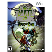 Death Jr. Root of Evil Video Game for Nintendo Wii