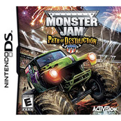 Monster Jam Path of Destruction Video Game for Nintendo DS