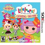 Lalaloopsy Carnival of Friends Video Game for Nintendo 3DS