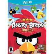 Angry Birds Trilogy Video Game for Nintendo Wii U