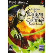 Nightmare Before Christmas Oogie's Revenge Video Game for Sony PlayStation 2