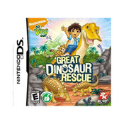 Go Diego Go! Great Dinosaur Rescue Video Game for Nintendo DS