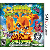 Moshi Monsters Katsuma Unleashed Video Game for Nintendo 3DS