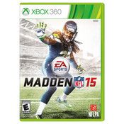 Madden 15 Video Game for Microsoft Xbox 360