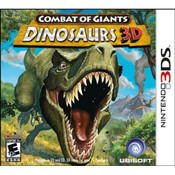 Combat of Giants Dinosaurs 3D Video Game for Nintendo 3DS