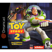 Toy Story 2 Buzz Lightyear to the Rescue Video Game for Sega Dreamcast