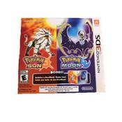 Pokemon Sun & Moon Dual Pack w/ Steelbook