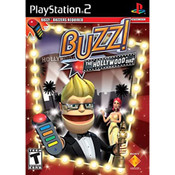Buzz The Hollywood Quiz Video Game for Sony PlayStation 2