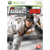 Major League Baseball 2K9 Video Game for Microsoft Xbox 360