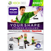 Your Shape Fitness Evolved Video Game for Microsoft Xbox 360